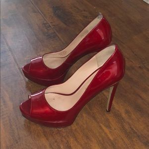 Enzo Angiolini red heels! 👠👠